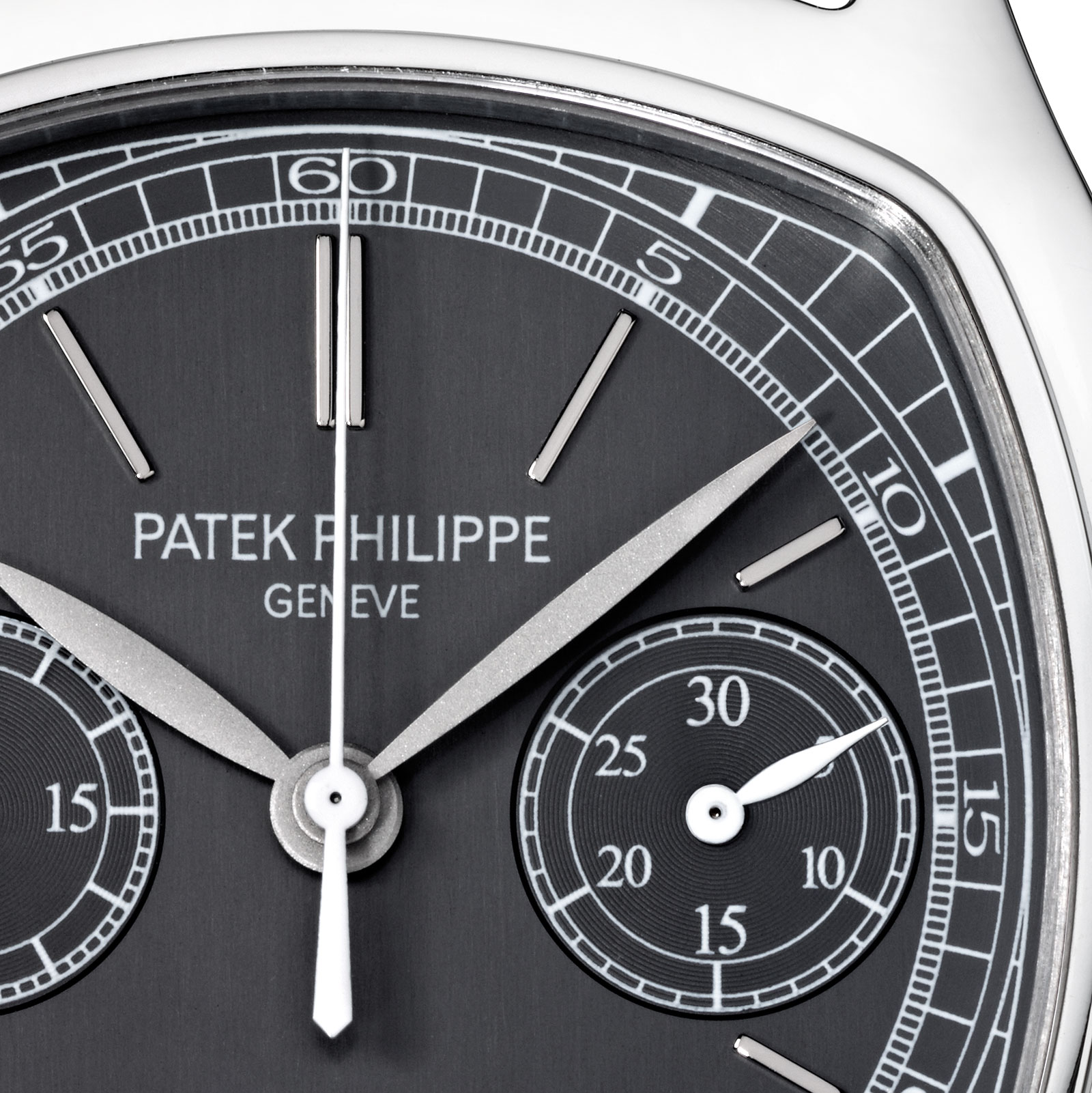Patek Philippe steel chronograph 3670A-001 dial