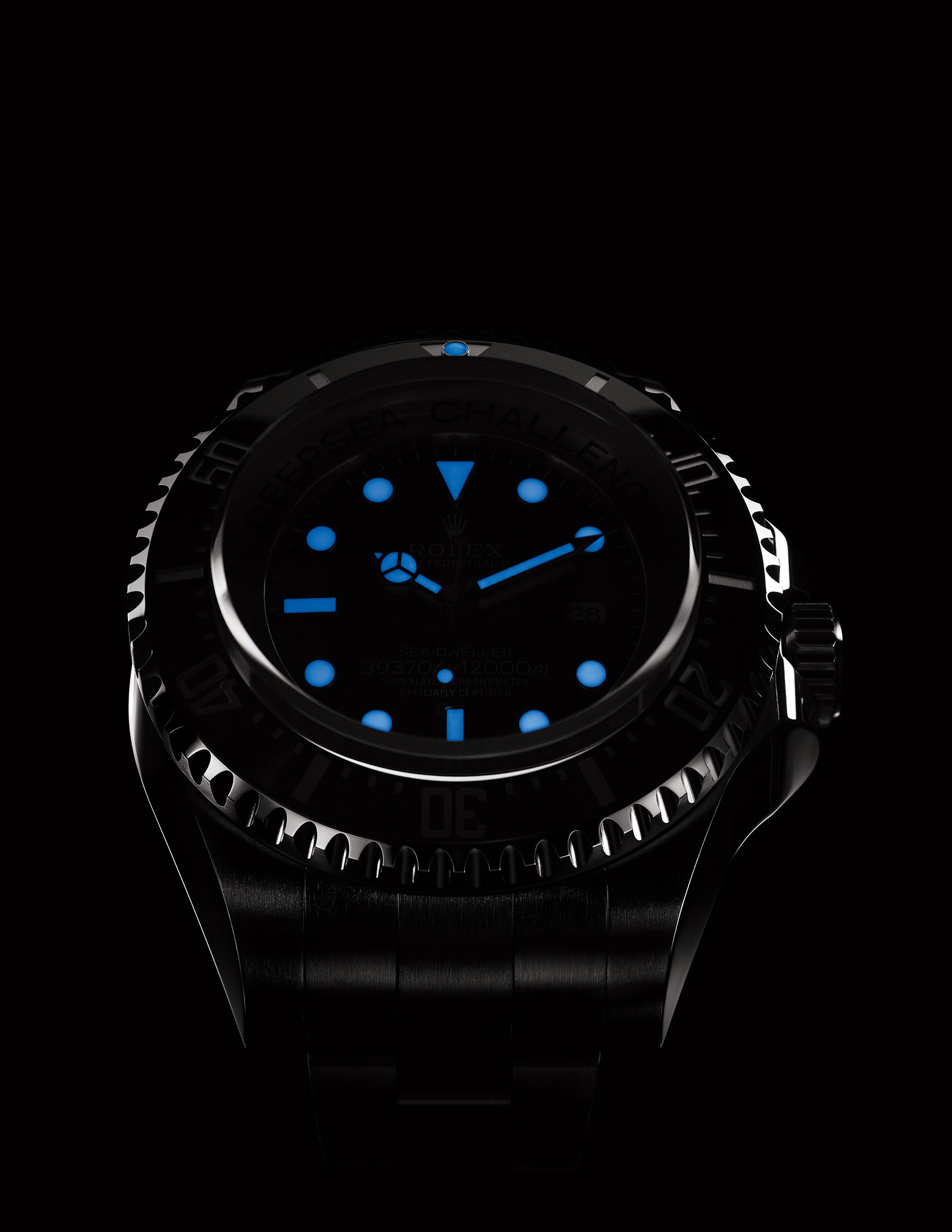 Introducing The Rolex Deepsea Challenge The Watch That Will Reach