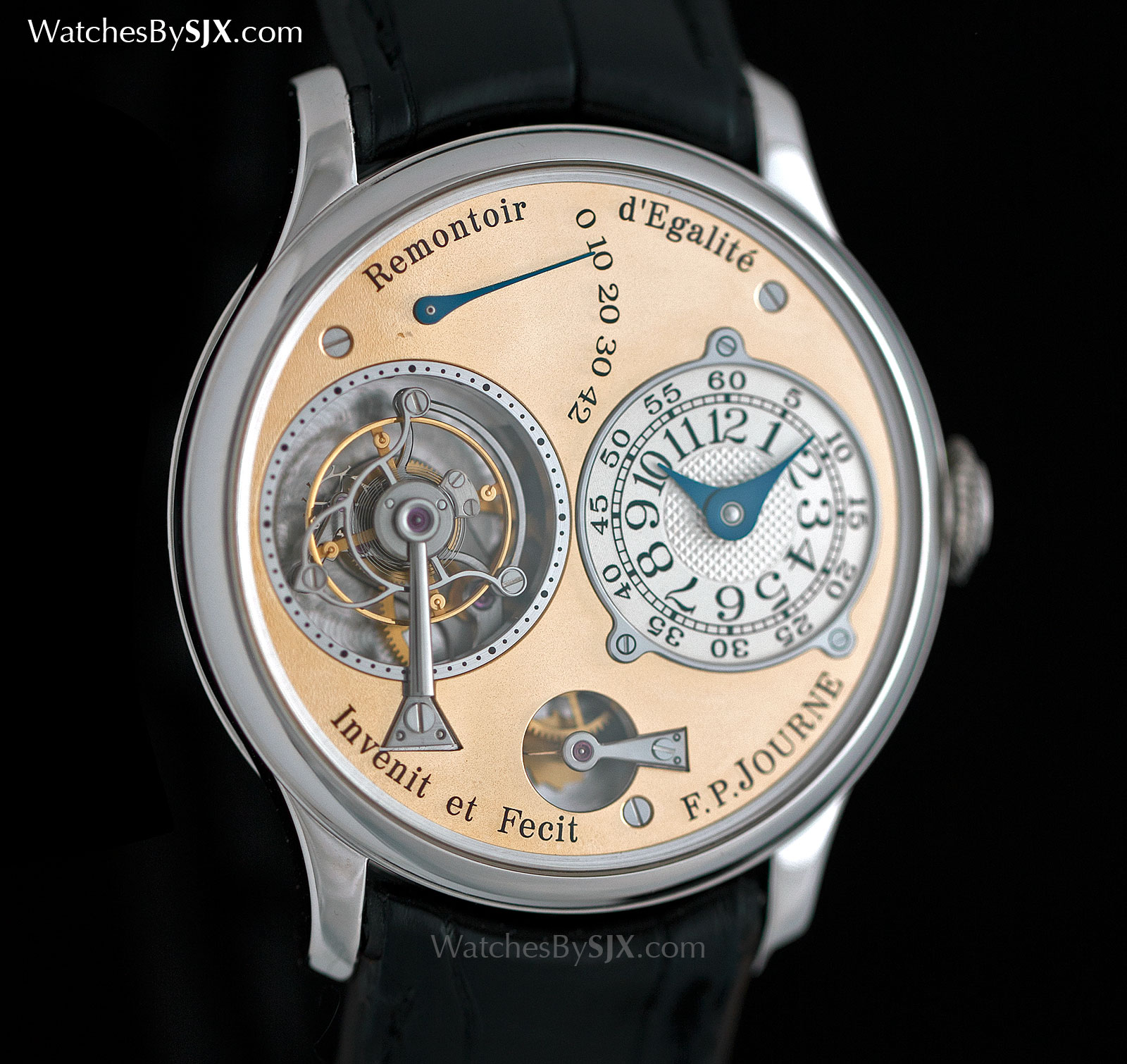 FP Journe Remontoir Tourbillon Brass movement 1