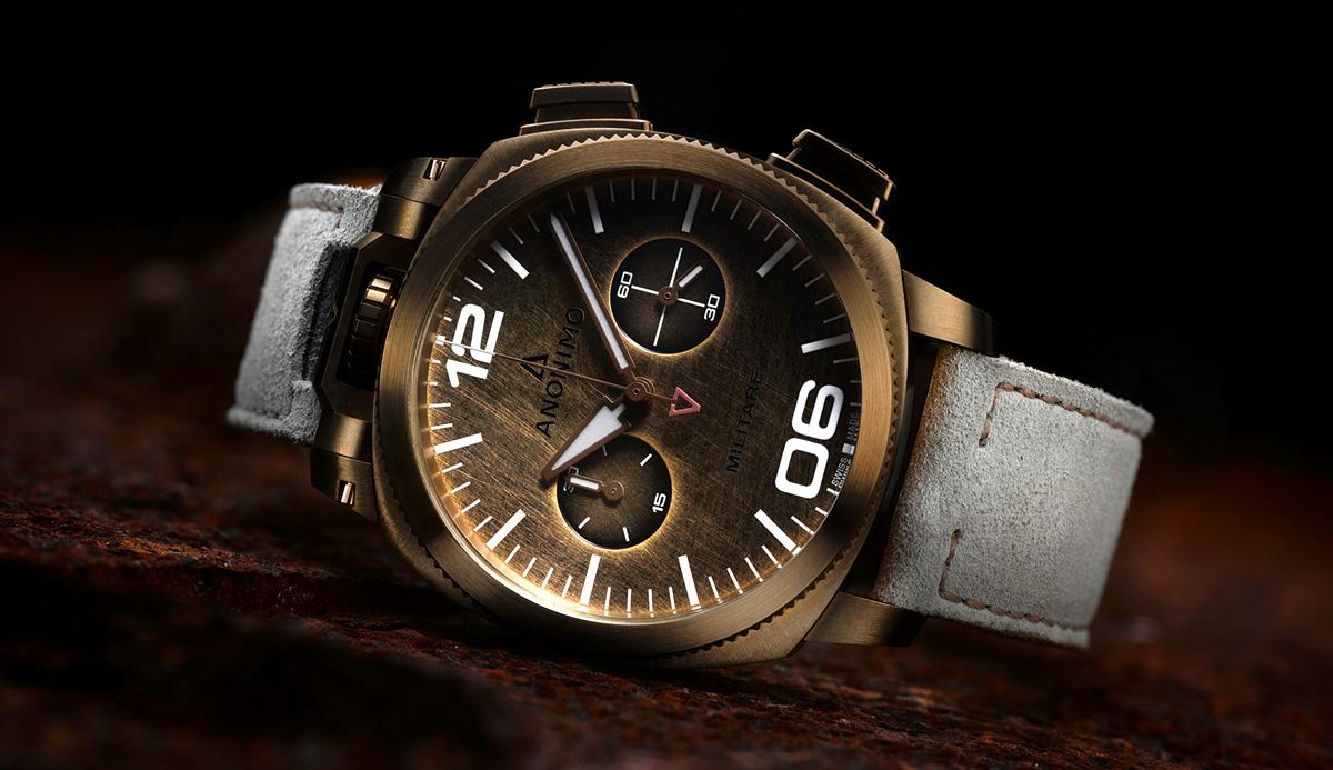 Anonimo-Militare-Alpini-bronze-chronograph-bronze-dial1