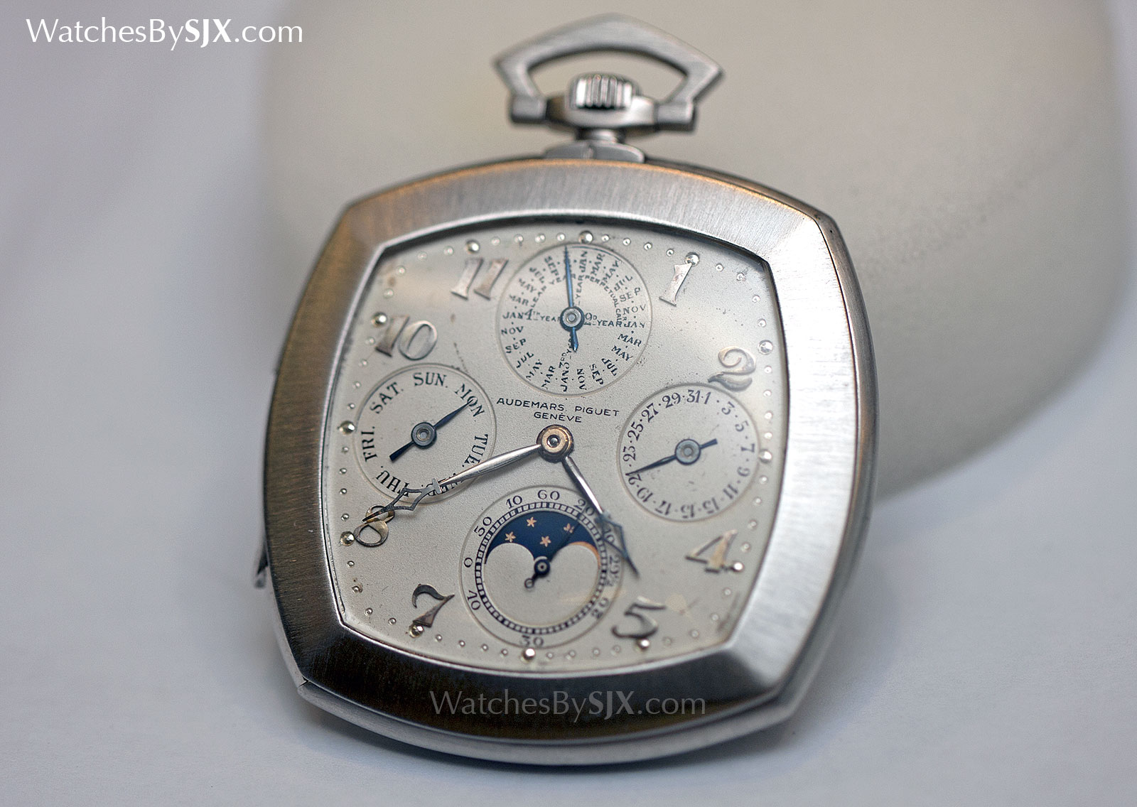 Audemars Piguet art deco perpetual calendar pocket watch 1923 1