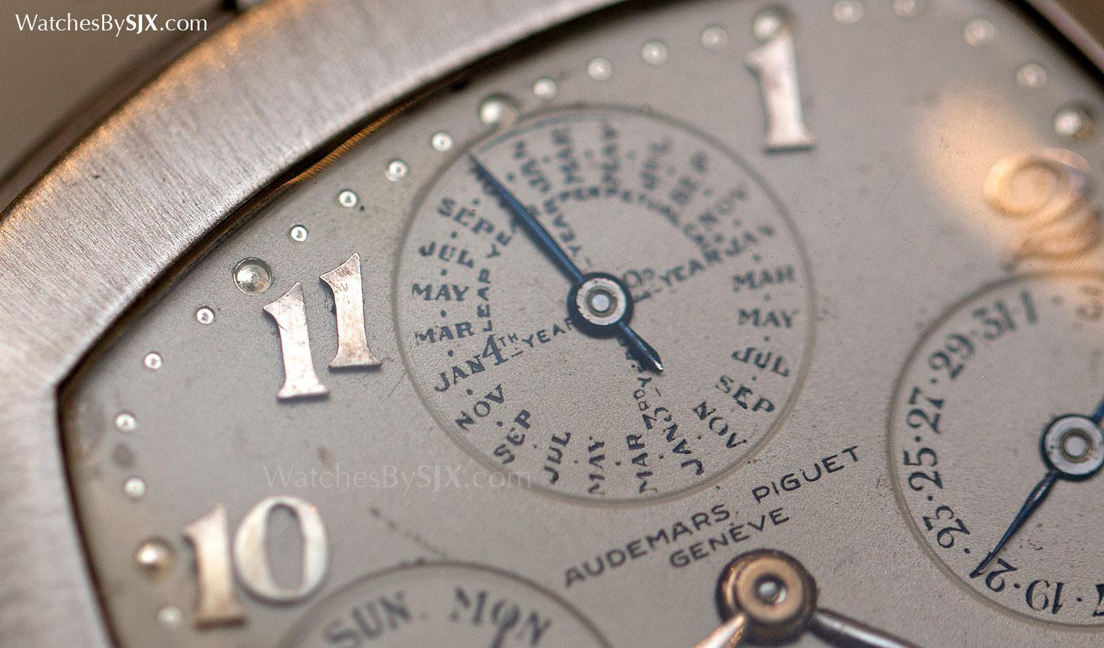 Audemars Piguet art deco perpetual calendar pocket watch 1923 3