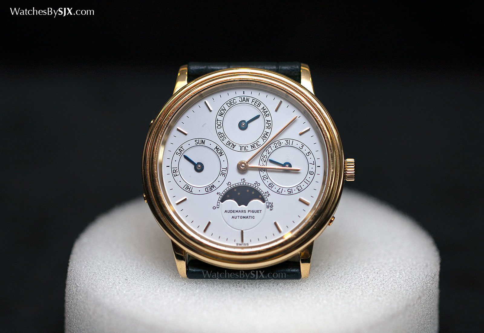 men grand thin watch perpetual rose calendar complications watches philippe ultra gold patek s
