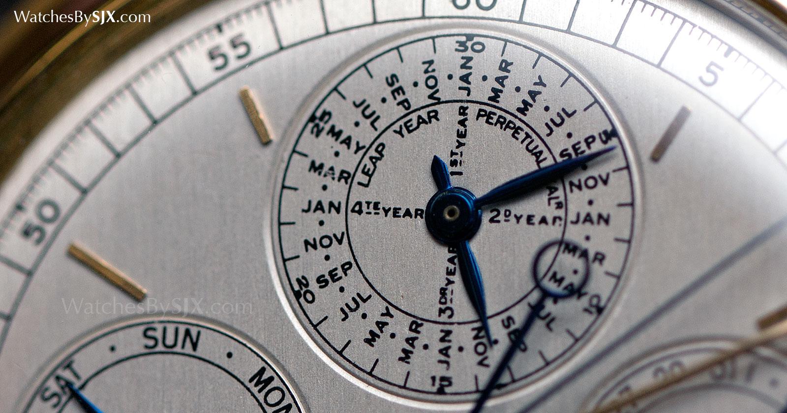 Audemars Piguet grand complication pocket watch c. 1970 2