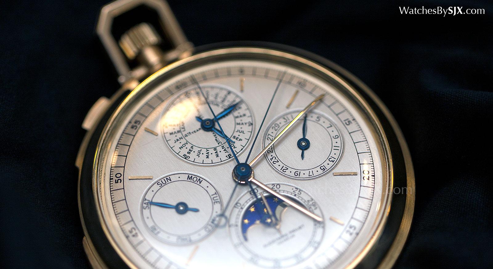 Audemars Piguet grand complication pocket watch c. 1970 3