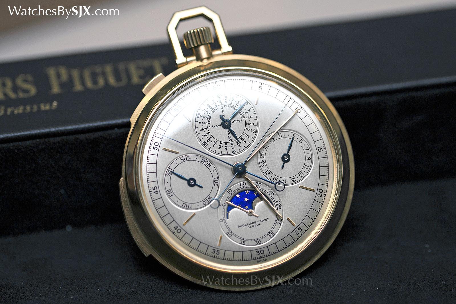 Audemars Piguet grand complication pocket watch c. 1970 4
