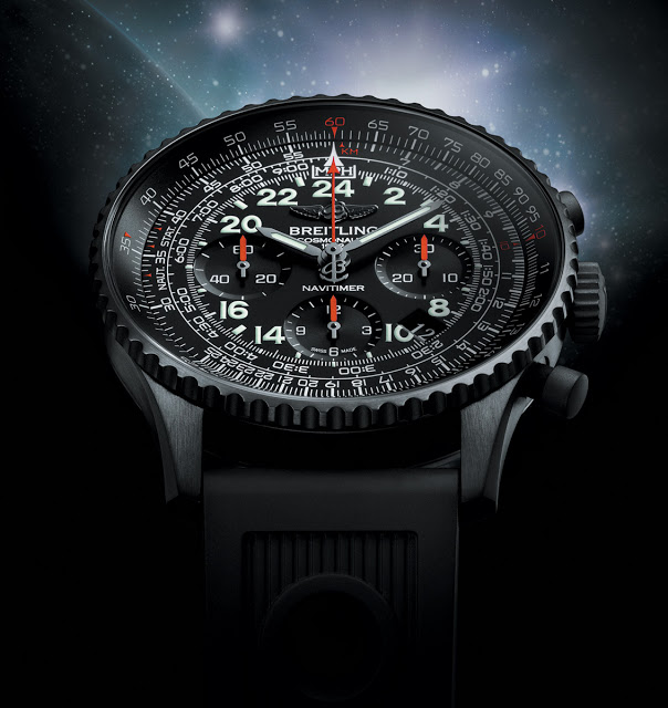 Introducing The Breitling Navitimer Cosmonaute Blacksteel With