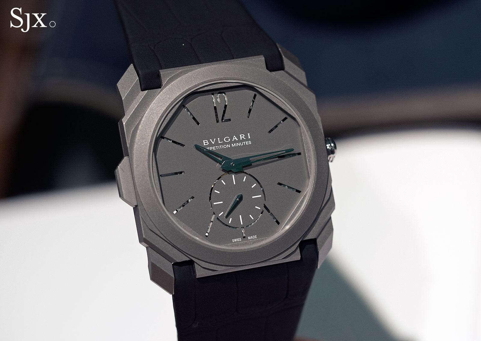 Bulgari Octo Finissimo Repeater titanium 3