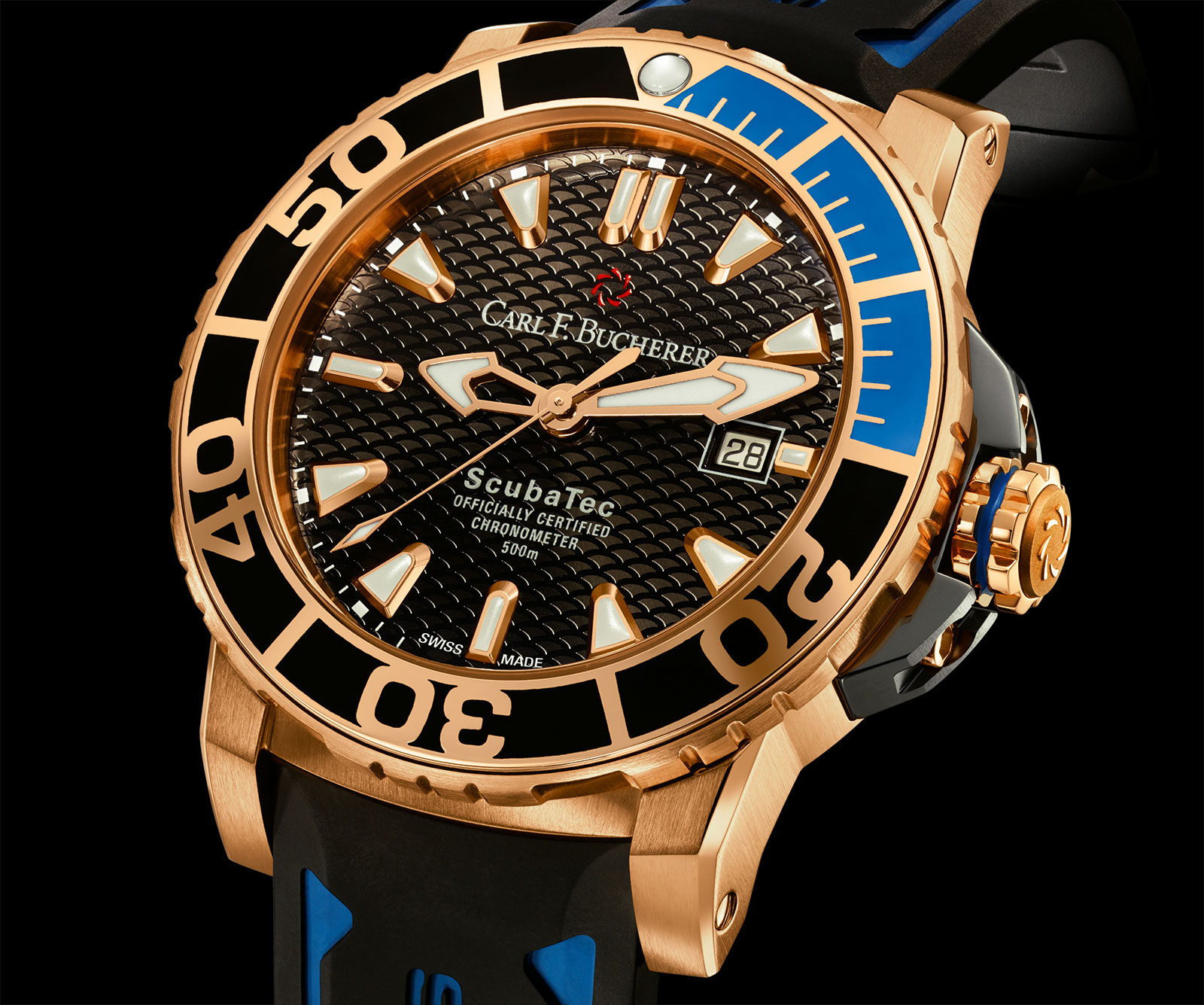 Carl F. Bucherer: Gold diver