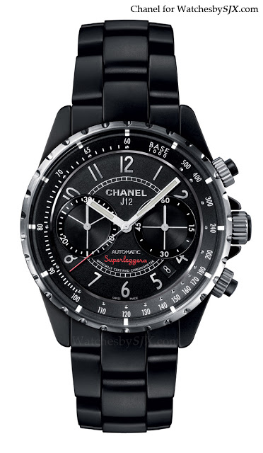 Chanel-J12-Superleggera-Black-Matte-chronograph-Basel-20131