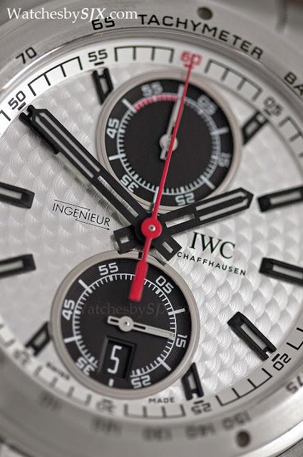 IWC-Ingenieur-Chronograph-Silberpfeil-silver-dial-282291