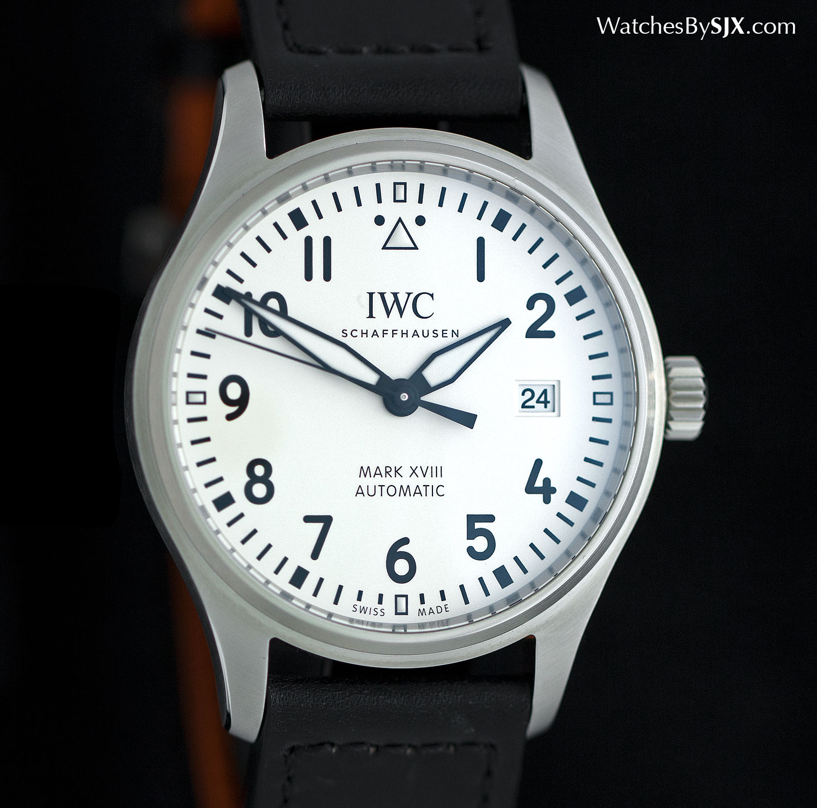 IWC Mark XVIII white