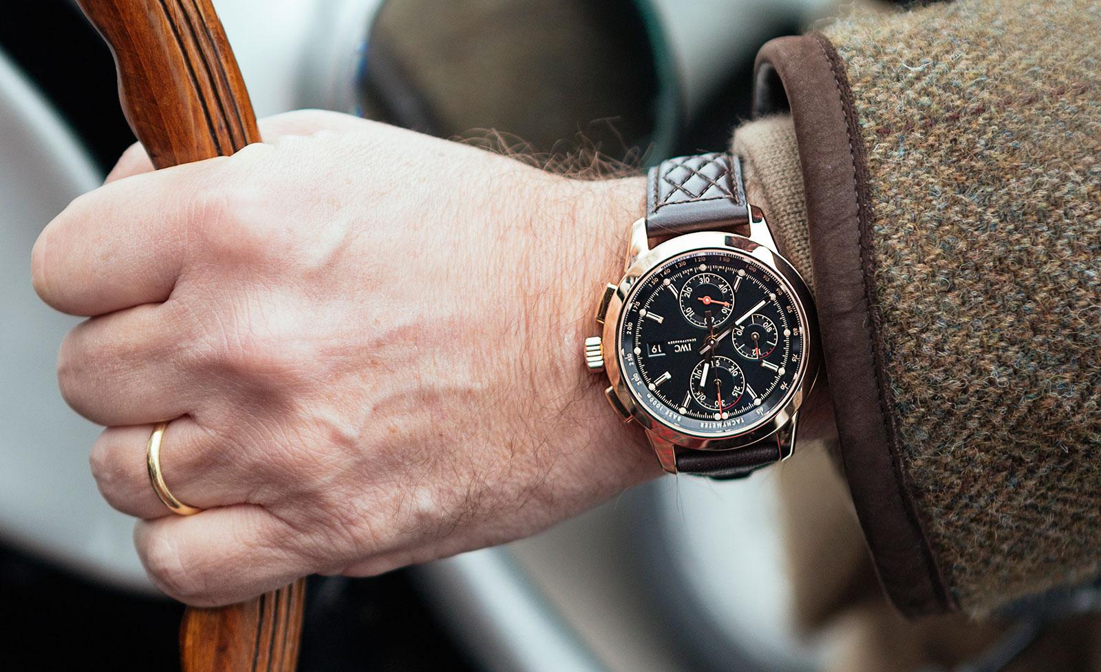Ingenieur Chronograph Edition Goodwood wrist shot