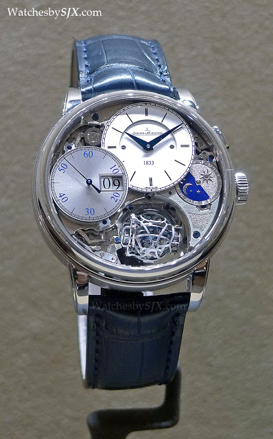 sihh 2013 jaeger lecoultre with live photos sjx watches. Black Bedroom Furniture Sets. Home Design Ideas