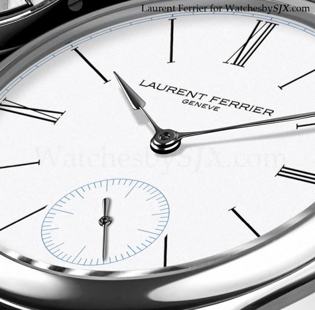 Tudor Classic Platinum: Laurent Ferrier Galet Micro-Rotor In Platinum With Enamel
