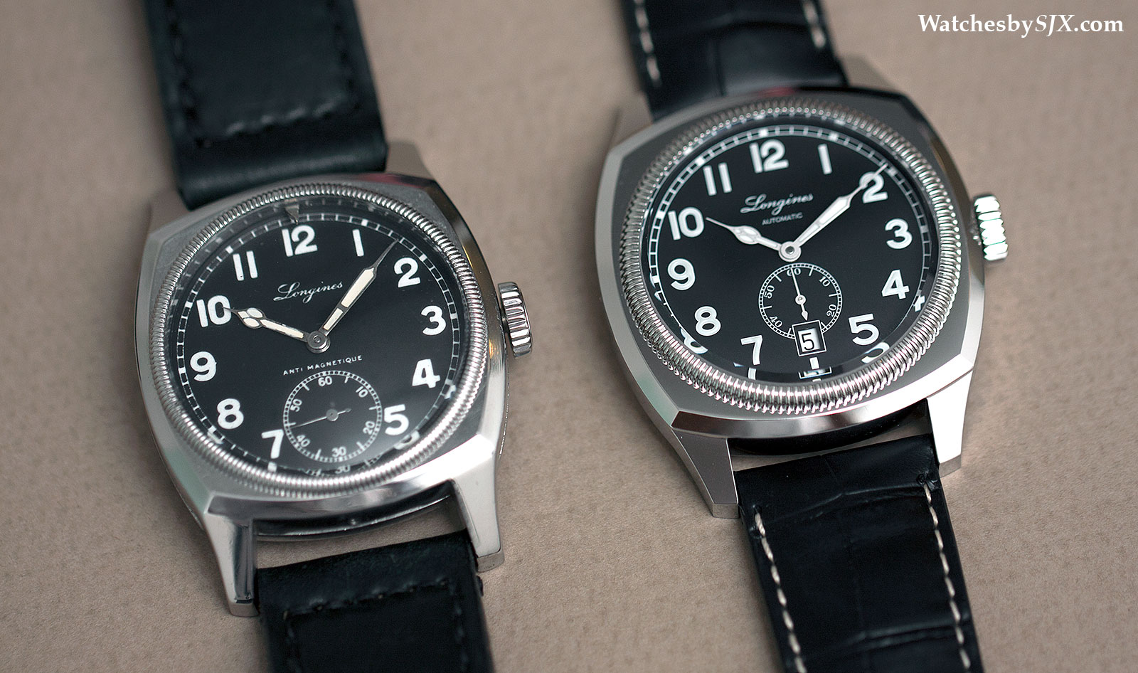 Longines-Heritage-1935-and-Czech-Air-Force-comparison-1