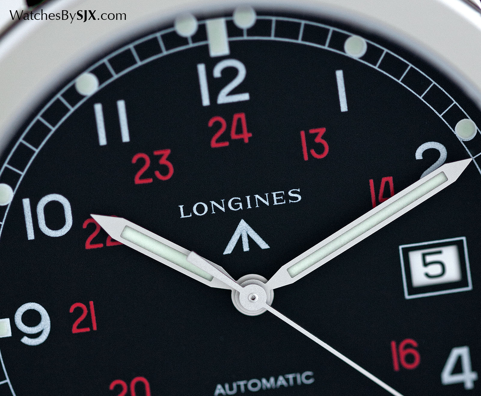 Longines Heritage Military COSD black 2