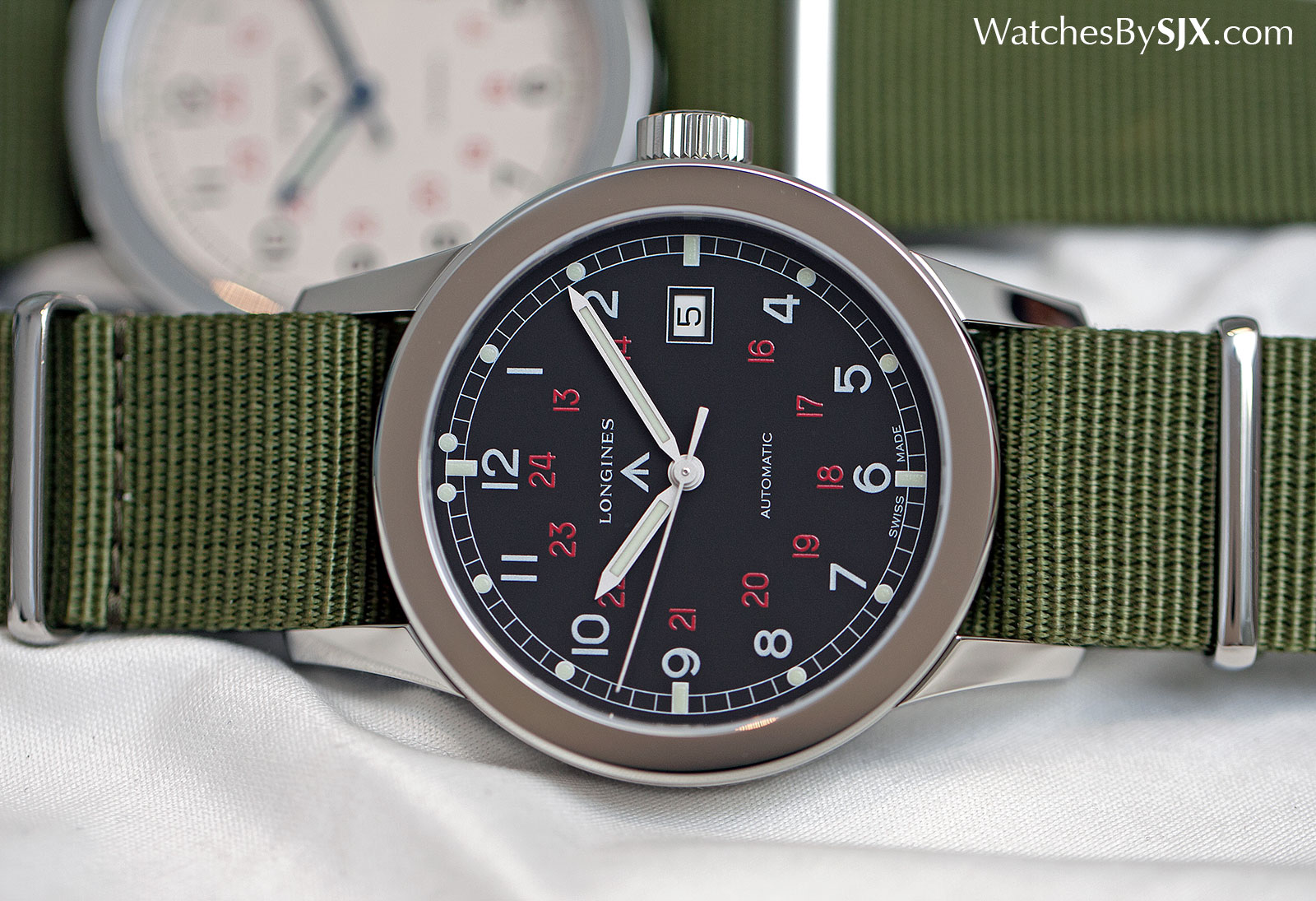 Longines Heritage Military COSD black 4