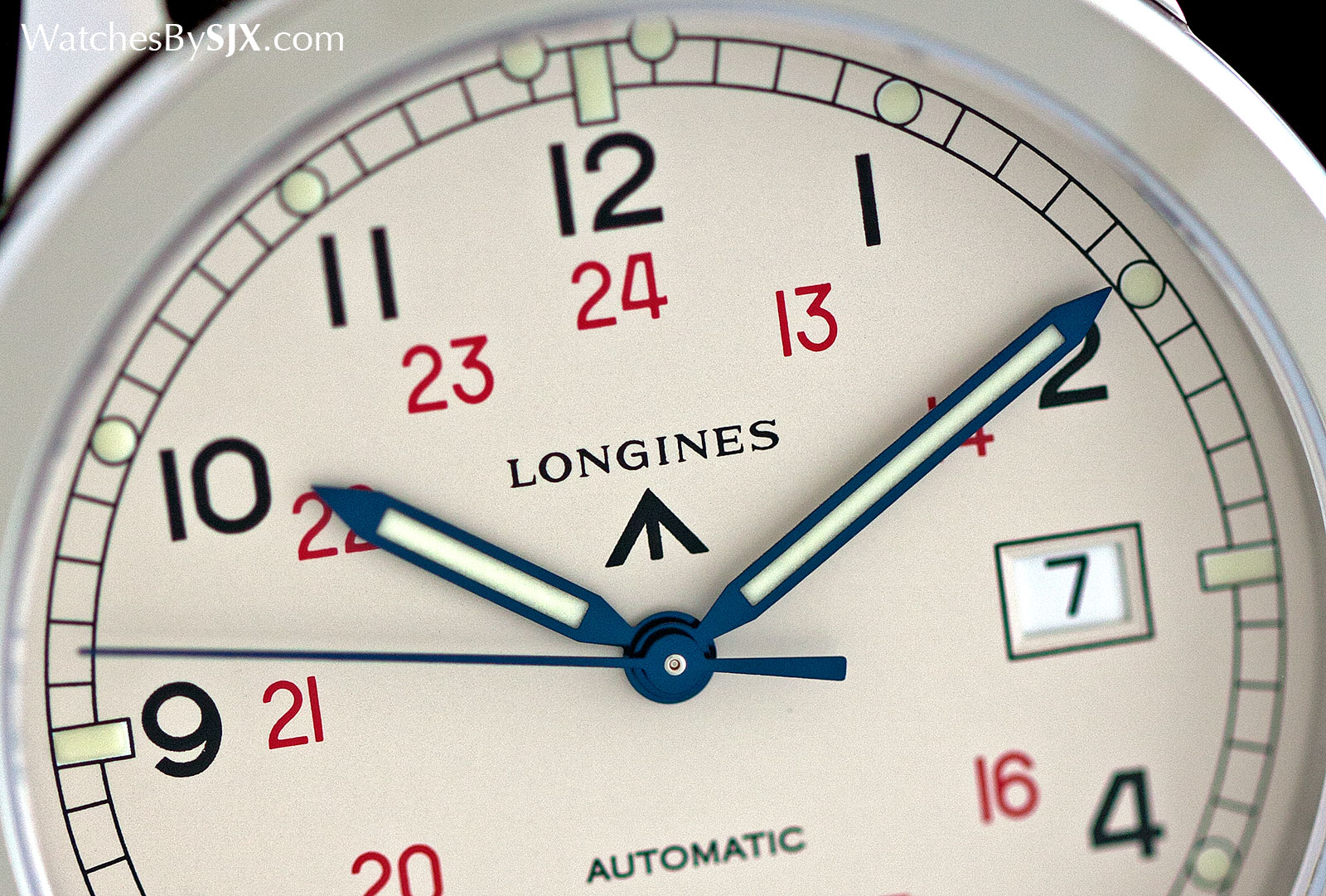 Longines Heritage Military COSD white 3