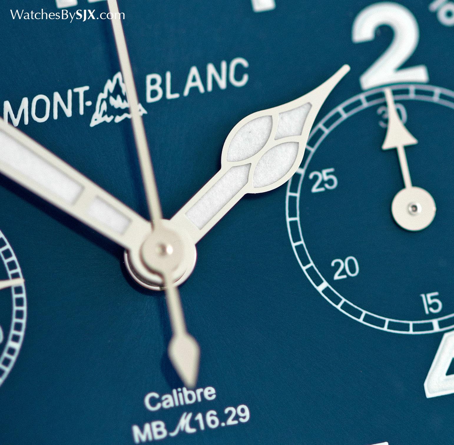 Montblanc 1858 Chronograph Tachymeter Steel 4
