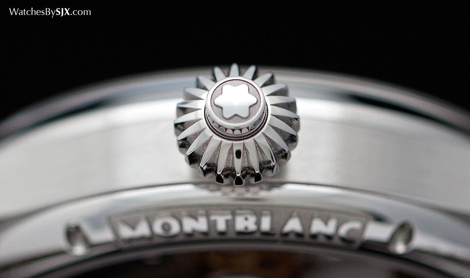 Montblanc 1858 Chronograph Tachymeter Steel 5