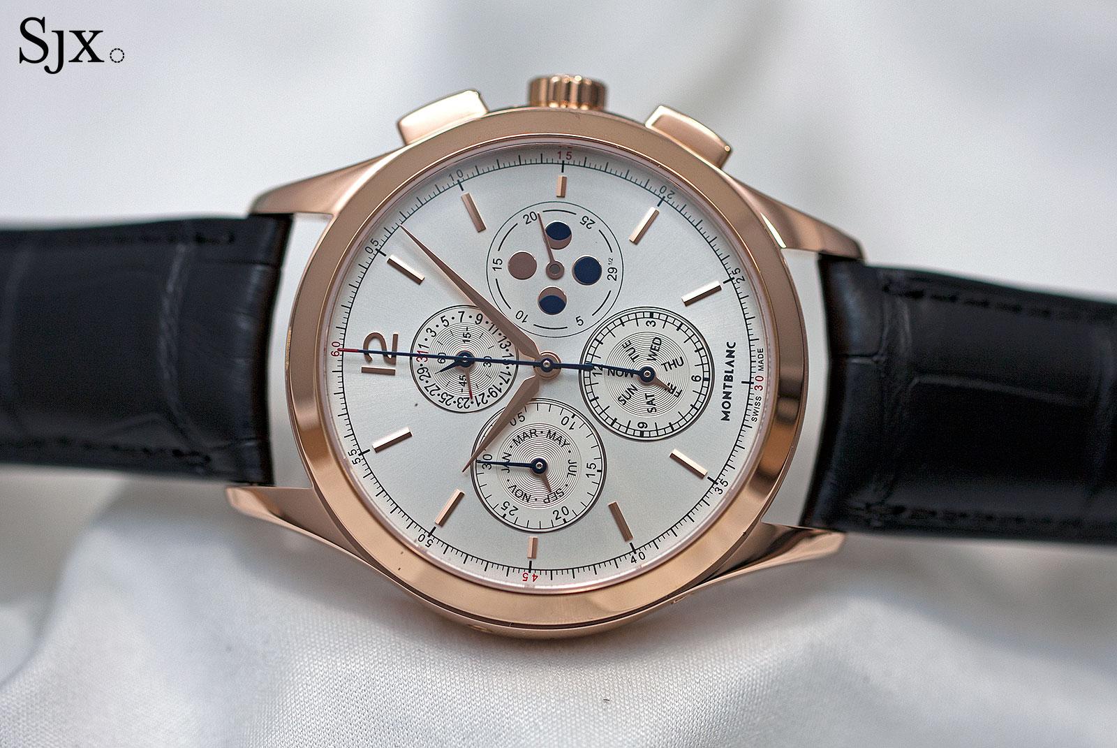 Montblanc Heritage Chronométrie Chronograph Quantième Annuel rose gold