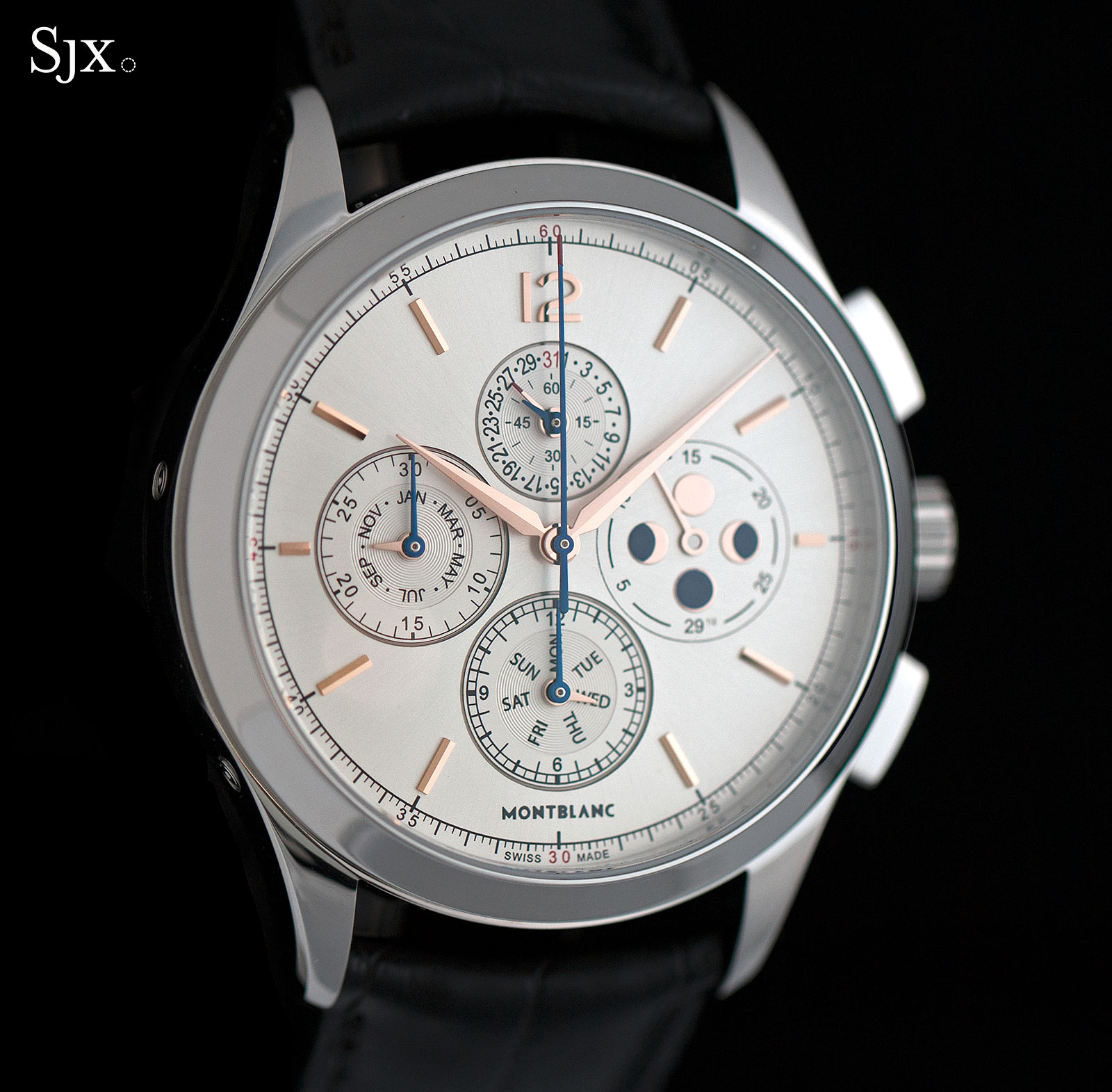 erard louis moonphase calendar watch watches automatic gents mens annual exclusive