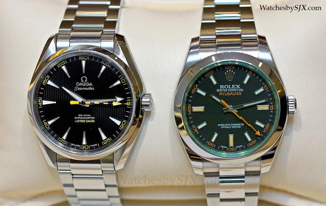 Omega-Aqua-Terra-152C000-Gauss-vs-Rolex-Milgauss-116400GV-283291