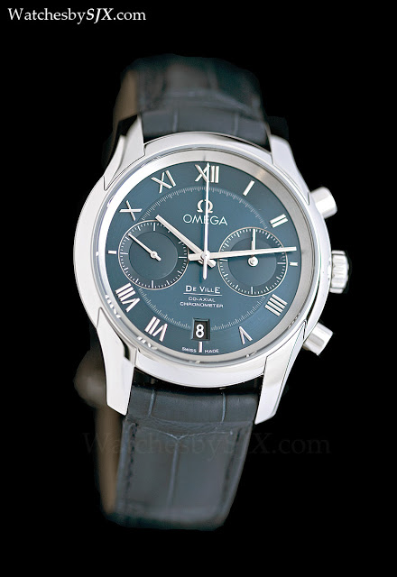 Omega-DeVille-chronograph-steel-blue-dial-Baselworld-2012-281291