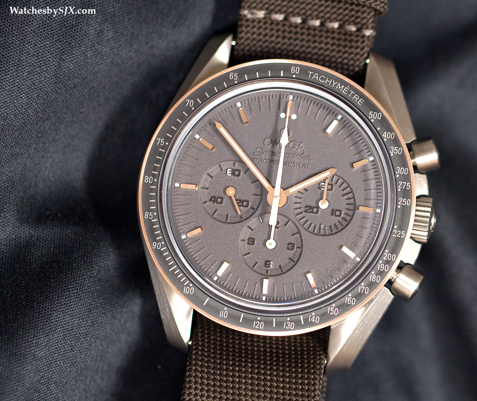 Hands On With The Omega Speedmaster Apollo 11 45th Anniversary The