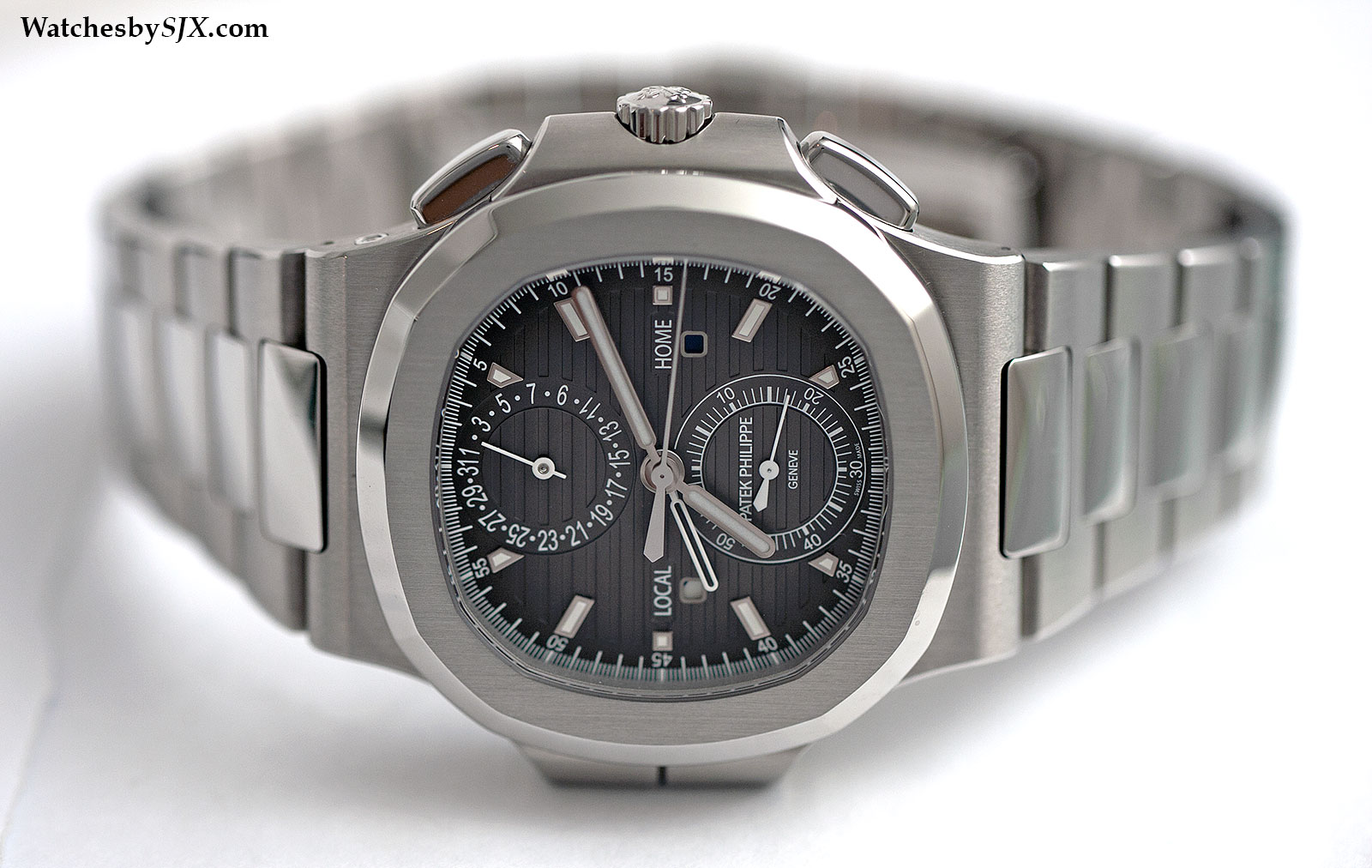 Patek Philippe Nautilus Travel Time 5990-1A 1