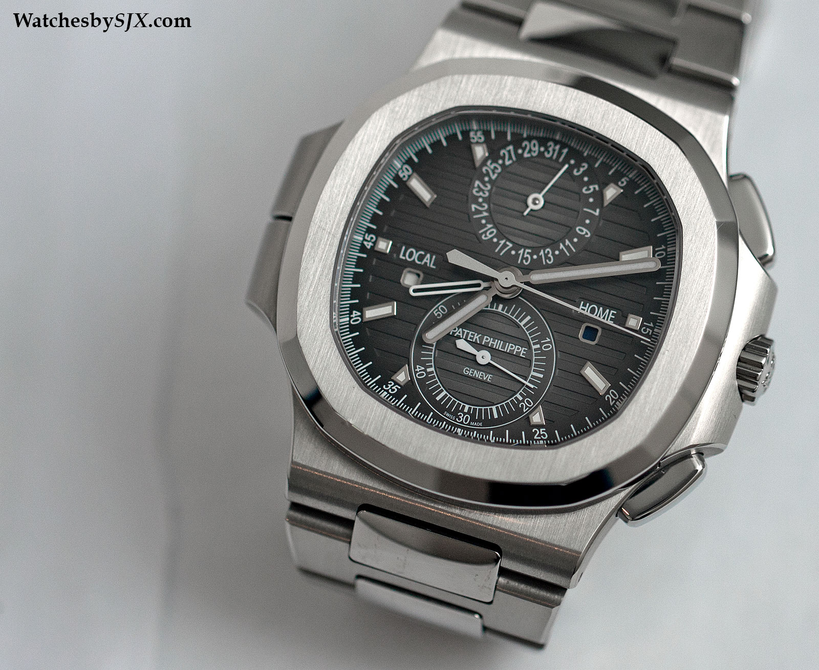 3cbd98c6171b3 Hands-On With The Patek Philippe Nautilus Travel Time Ref. 5990/1A (With  Live Photos, Review And Price)