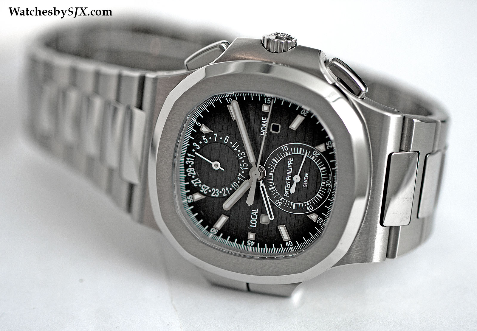 Patek Philippe Nautilus Travel Time 5990-1A 5
