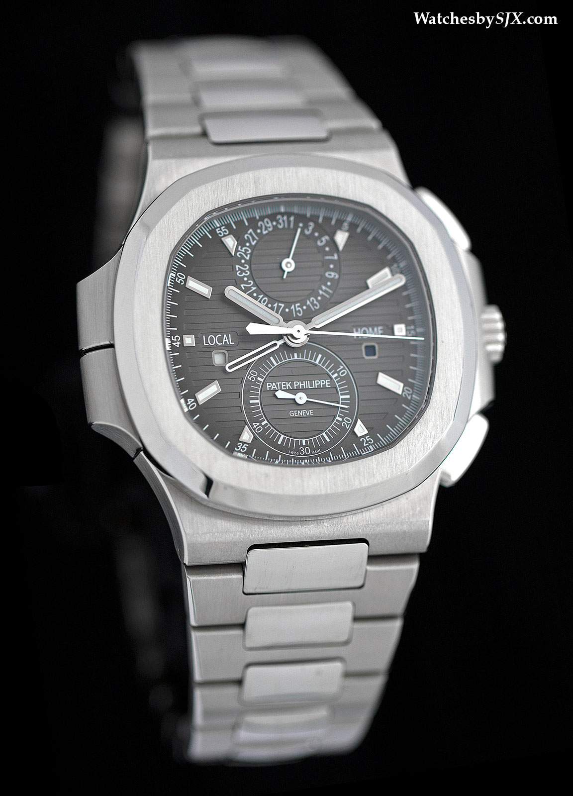 Patek Philippe Nautilus Travel Time 5990-1A Review 1