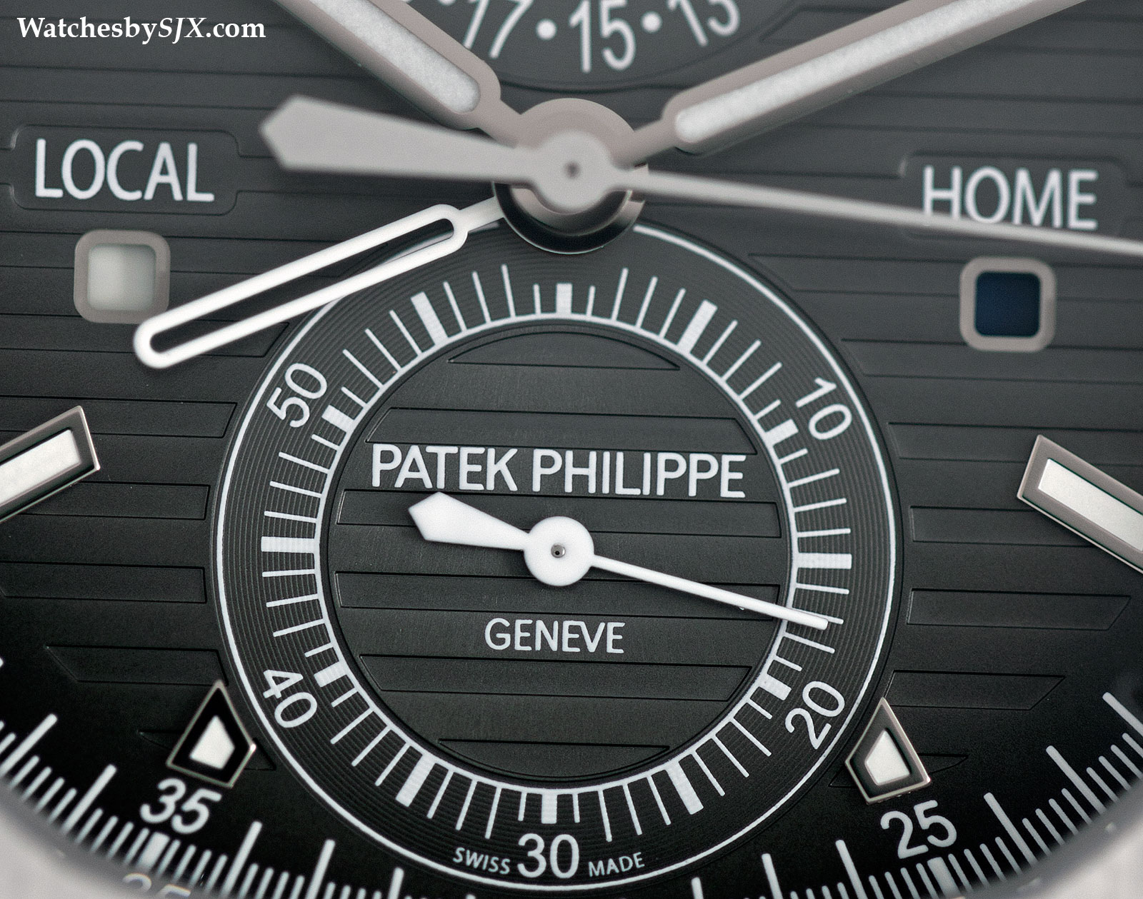 Patek Philippe Nautilus Travel Time 5990-1A Review 10