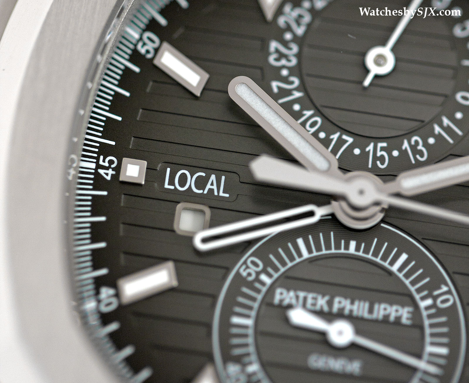Patek Philippe Nautilus Travel Time 5990-1A Review 4