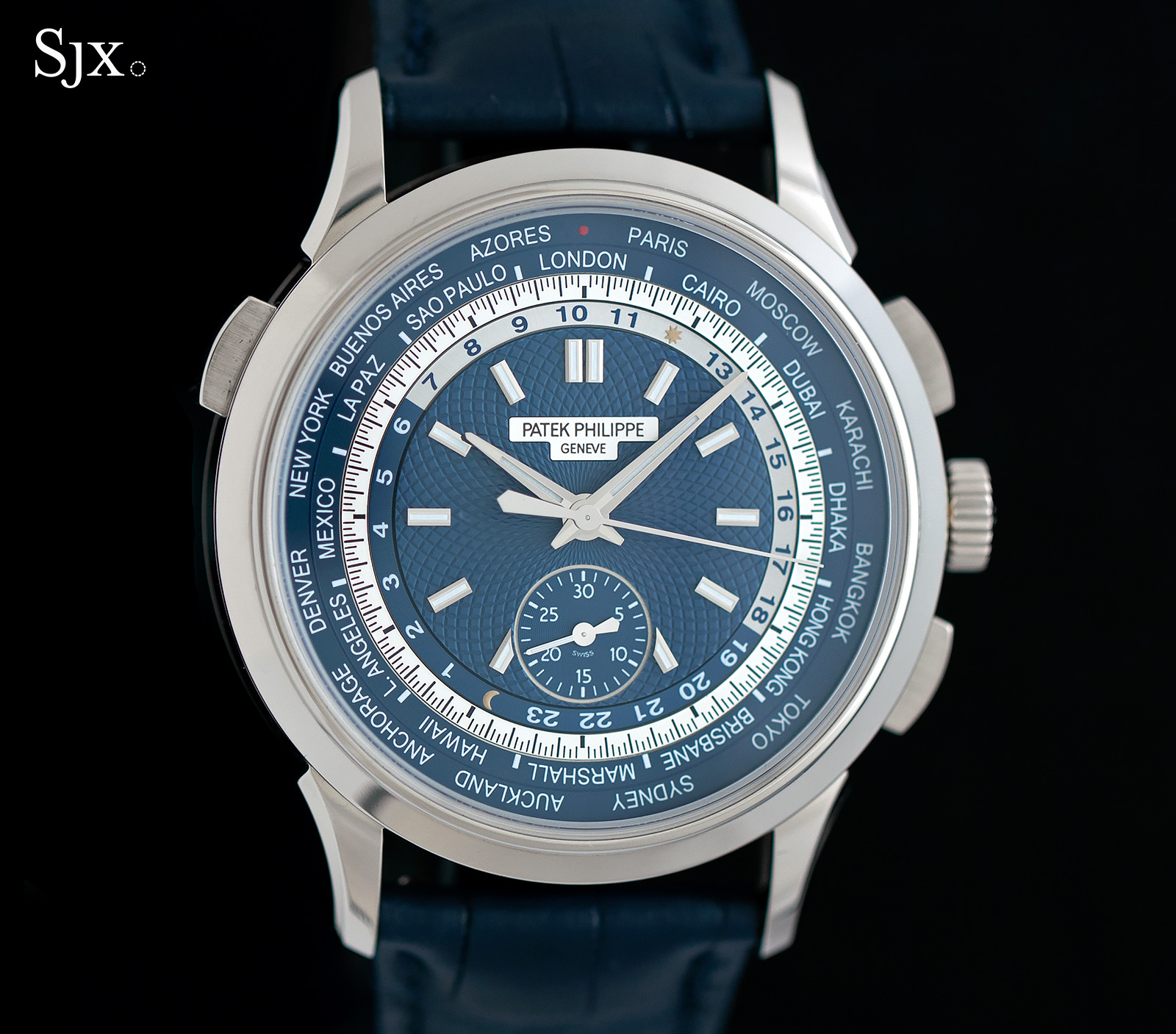Patek Philippe World Time Chronograph Ref. 5930G 1