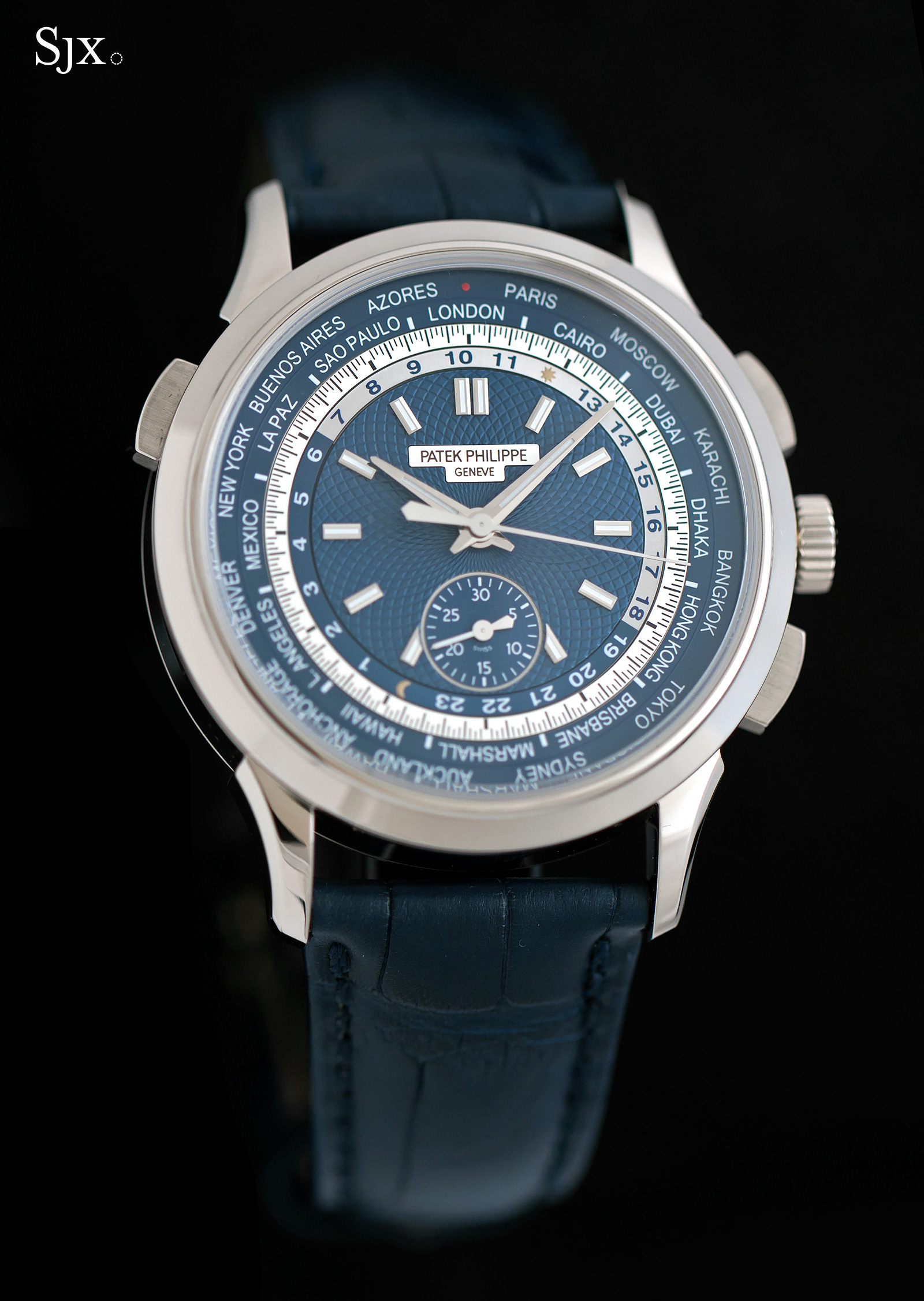 Patek Philippe World Time Chronograph Ref. 5930G 2