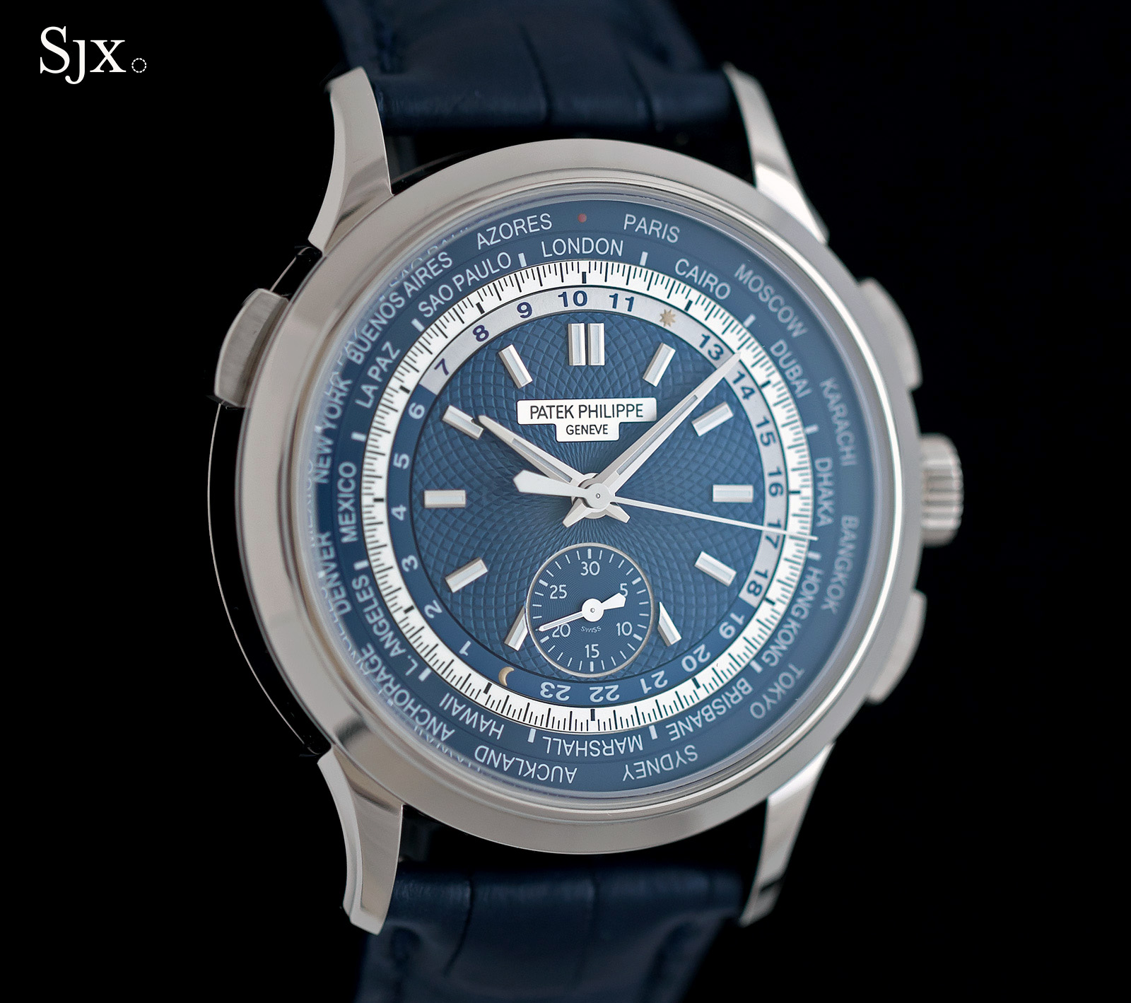 Patek Philippe World Time Chronograph Ref. 5930G 3