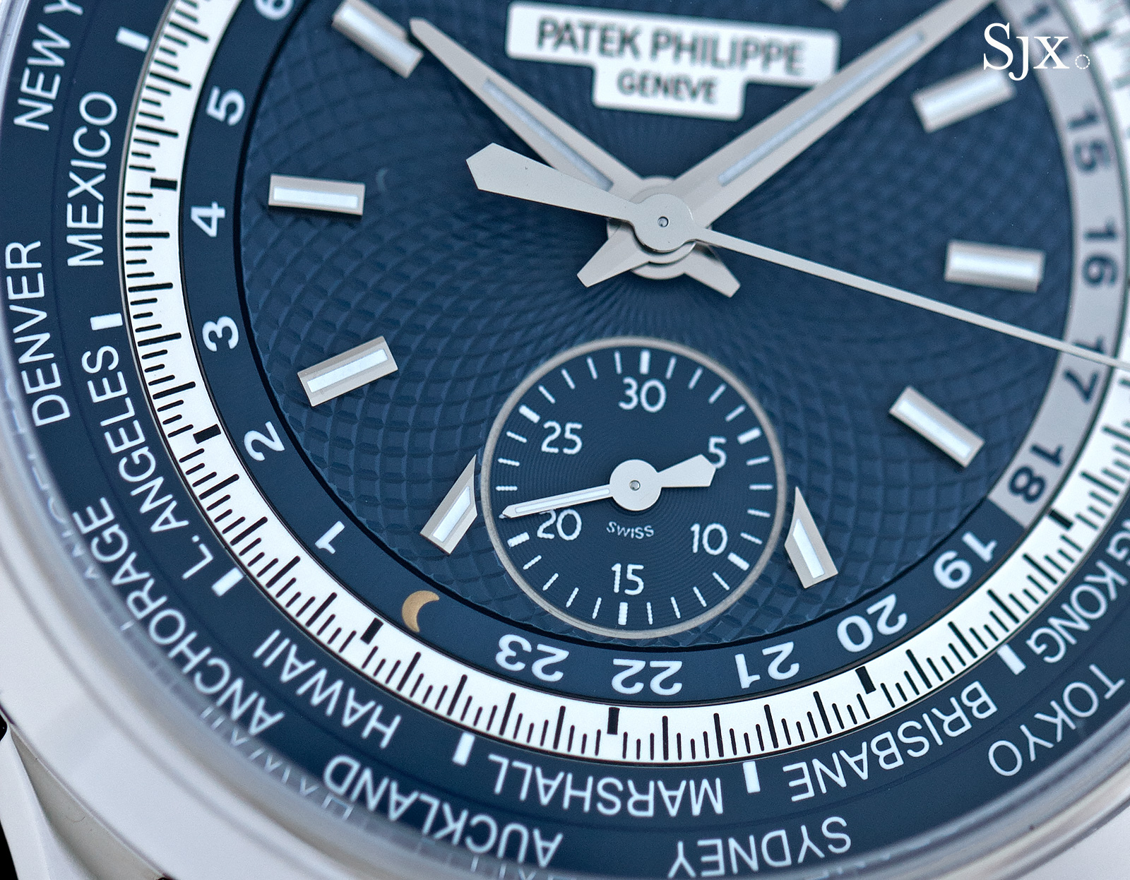 Patek Philippe World Time Chronograph Ref. 5930G 4