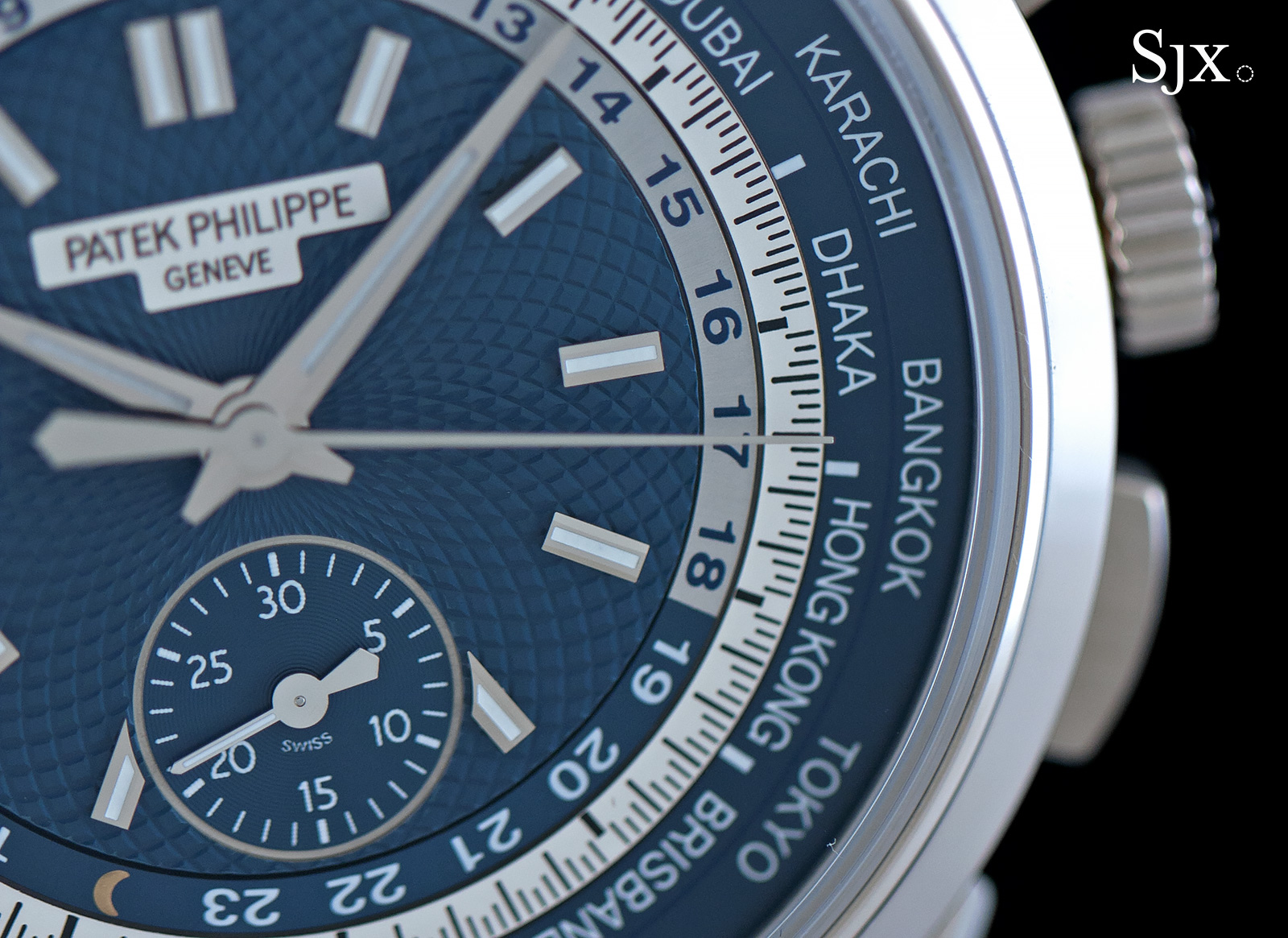 Patek Philippe World Time Chronograph Ref. 5930G 8
