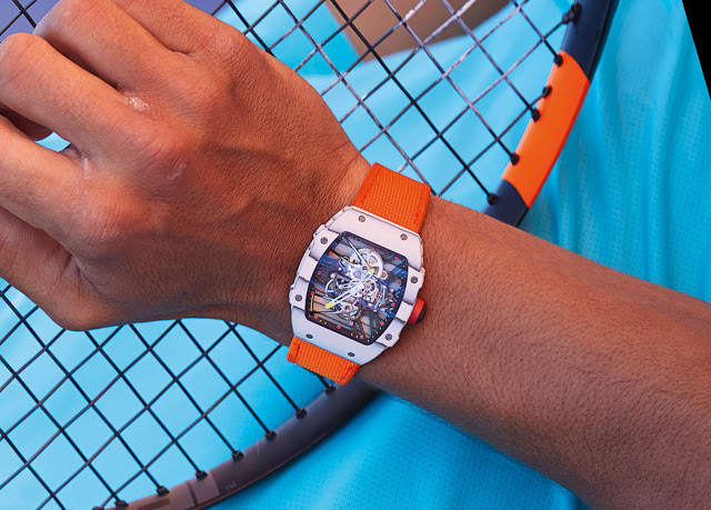 Introducing Rafael Nadal S New Richard Mille Wristwatch Yours For 775 000 Sjx Watches