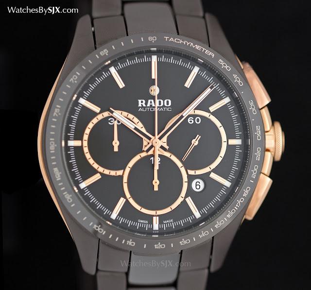 Rado-HyperChrome-Tachymeter-Brown-Ceramic-Automatic-Chronograph-1