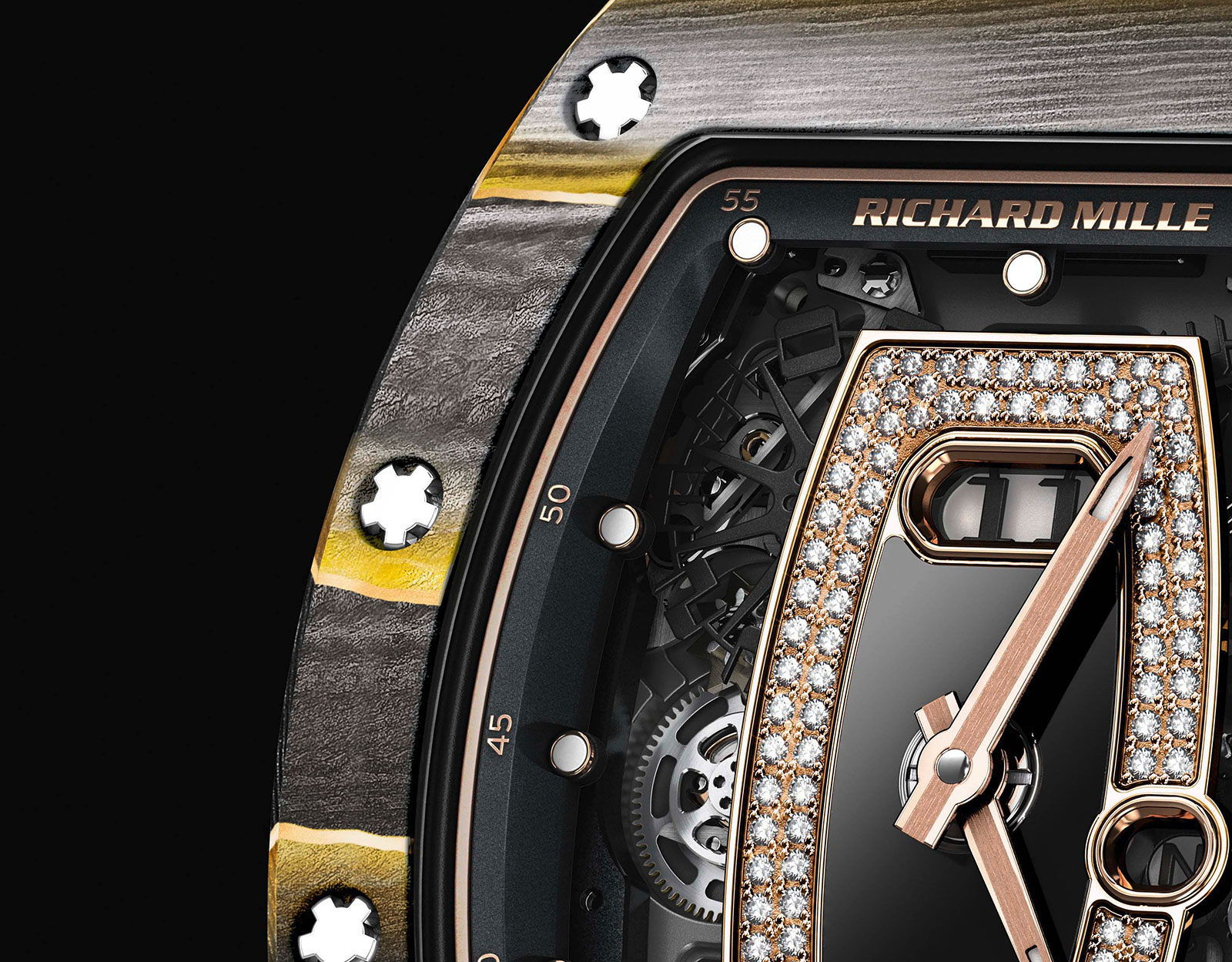 Richard Mille RM 037 Gold NTPT carbon 1