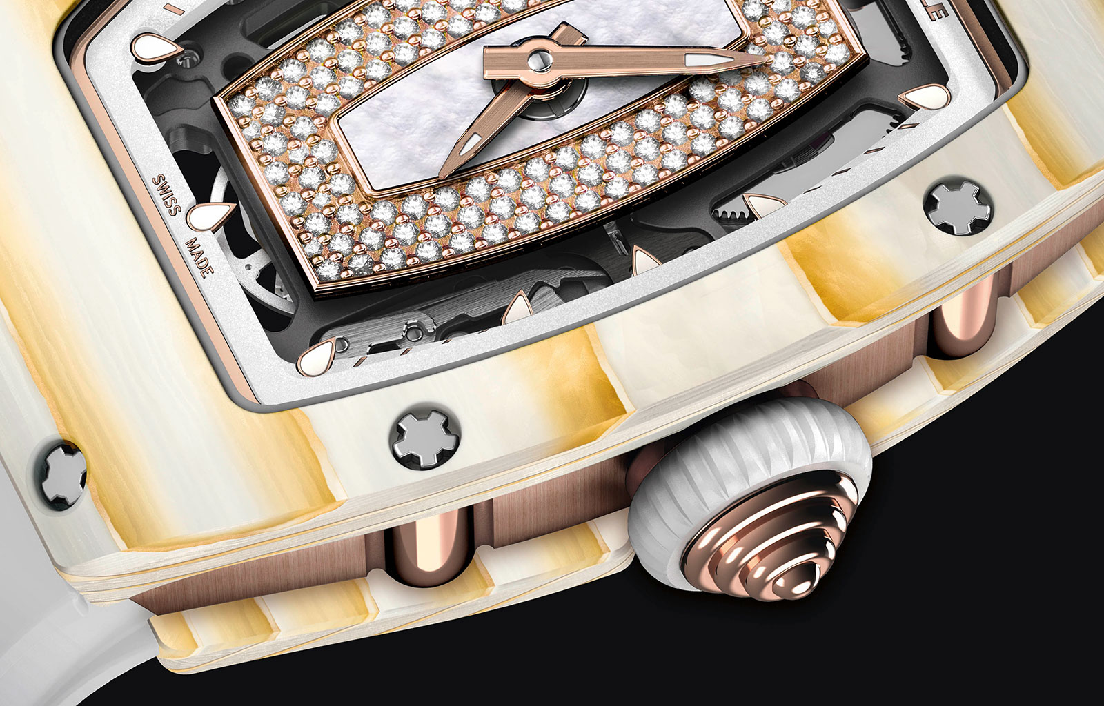 Richard Mille RM 07-01 Gold Quartz-TPT