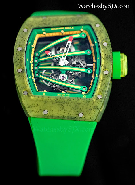 Hands On With The 600 000 Green And Yellow Richard Mille Rm059 01