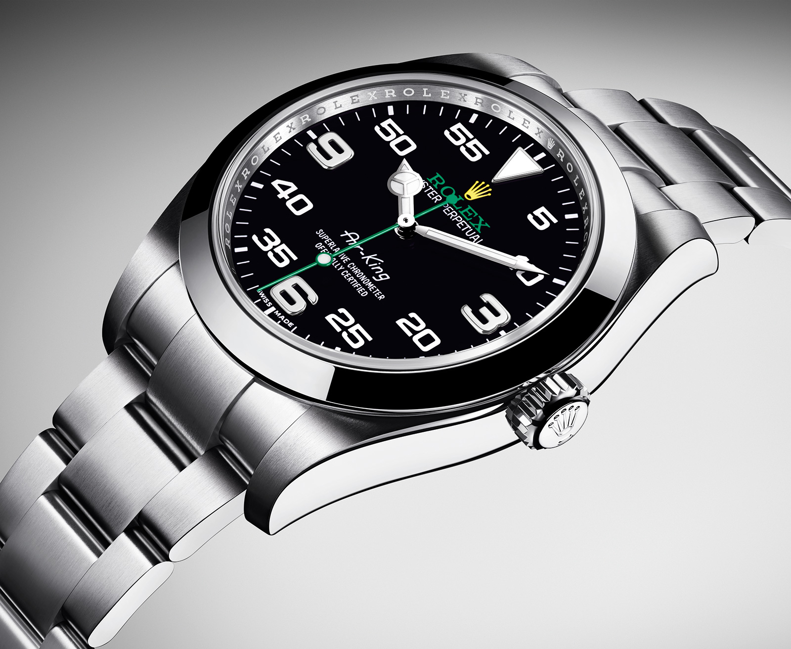 rolex brings back the air king with a funky new dial sjx watches
