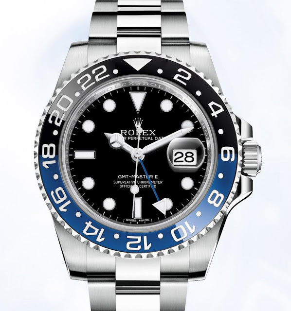 Baselworld 2013 Rolex Gmt Master Ii With Blue And Black Ceramic