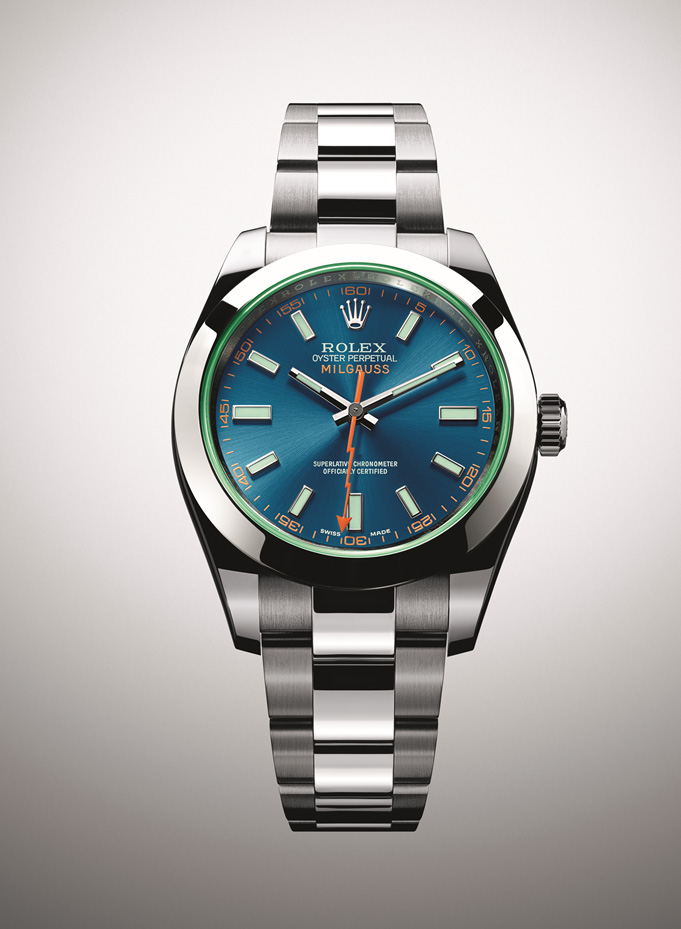 Rolex Milgauss Blue Price