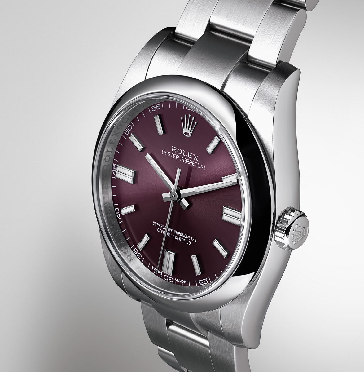6ad1a17f1ce35 Baselworld 2014  Introducing the Entry Level Rolex Oyster Perpetual ...